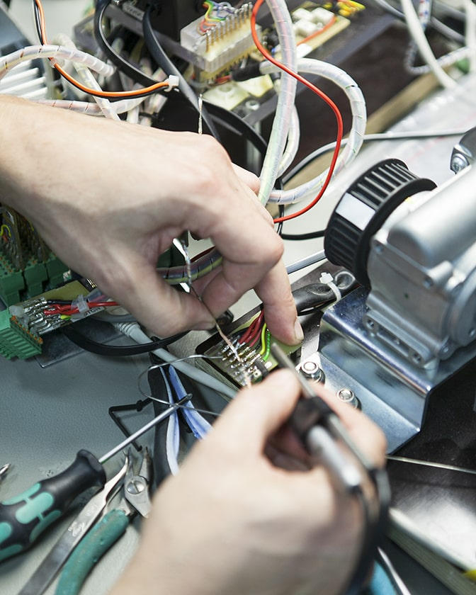 Produktion af elektronik