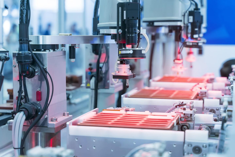 Elektronikproduktion til indsutriel brug