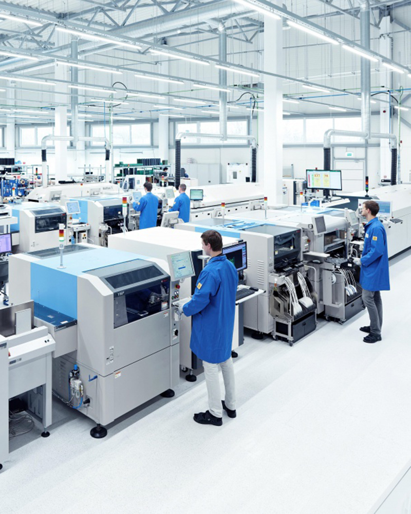 Skalérbar elektronikproduktion